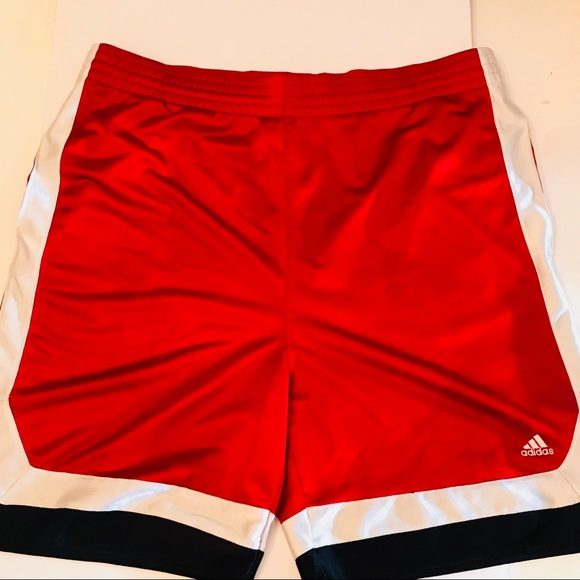 4c708e742 adidas Other - ADIDAS MEN RED BASKETBALL SHORTS X-LARGE
